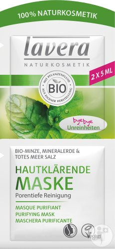 Lavera Masque Purifiant Bio 2x5ml