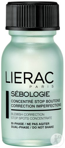 Lierac Sébologie Concentré Stop Boutons Correction Imperfections Flacon 15ml