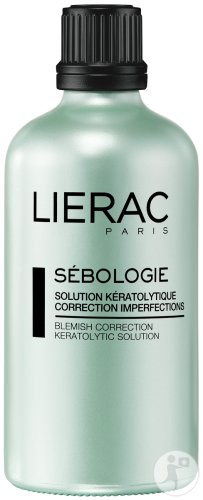 Lierac Sébologie Solution Kératolyque Correction Imperfections Flacon 100ml