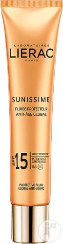 Lierac Sunissime Fluide Protecteur Anti-Âge Global IP15 Visage Tube 40ml