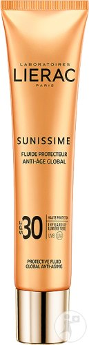 Lierac Sunissime Fluide Protecteur Anti-Âge Global IP30 Visage Tube 40ml