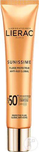 Lierac Sunissime Fluide Protecteur Anti-Âge Global IP50+ Visage Tube 40ml