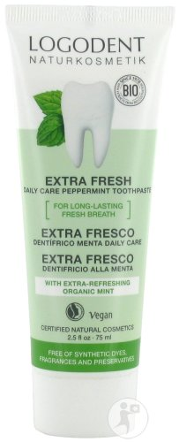 Logona Logodent Daily Care Extra Fresh Dentifrice Menthe Bio Tube 75ml