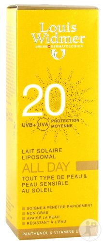 Louis Widmer All Day IP20 Légèrement Parfumé Tube 100ml