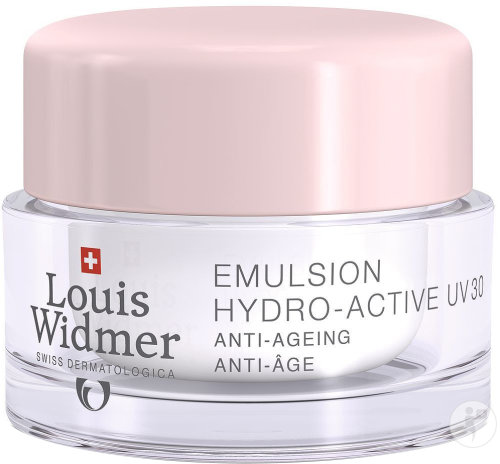 Louis Widmer Emulsion Hydro-Active UV 30 Légèrement Parfumé Pot 50ml