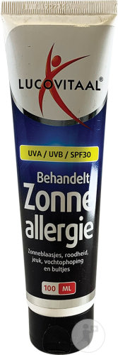 Lucovitaal Allergie Crème Solaire Tube 100ml