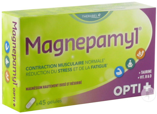 Magnepamyl Opti+ Contraction Musculaire 45 Gélules