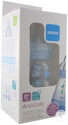 Mam Easy Start Biberon Anti-Colique 0+ Mois 160ml