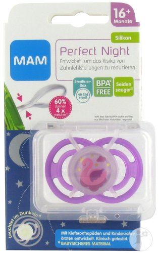 Mam Sucette Perfect Night 16+ Mois Fille 1 Pièce