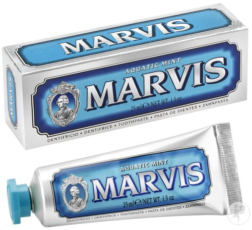 Marvis Aquatic Mint Dentifrice Tube 25ml