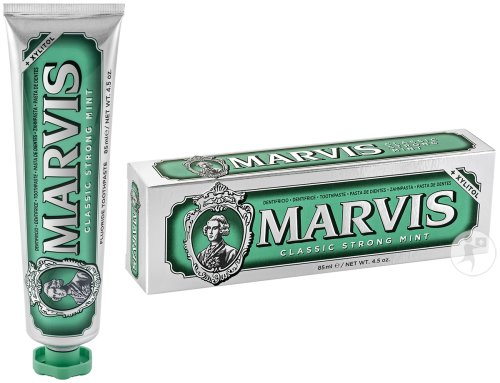 Marvis Classic Strong Mint Dentifrice Tube 85ml