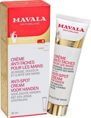 Mavala Mains Creme Anti Taches 30ml