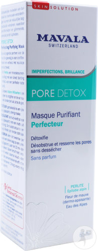 Mavala Pore Detox Masque Purifiant Perfecteur Tube 65ml