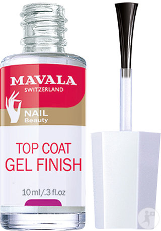 Mavala Top Coat Gel Finish Fixateur Manucure 10ml
