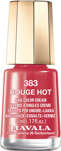 Mavala Vernis à Ongles n°383 Rouge Hot 5ml