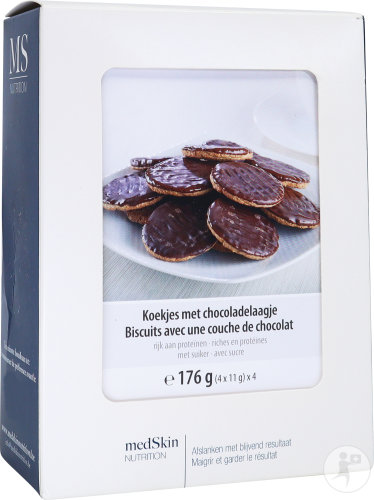 Medskin Biscuits Couche Chocolat 4