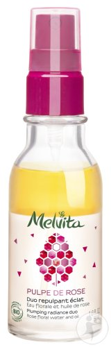Melvita Pulpe De Rose Duo Repulpant Éclat 50ml