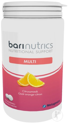 Metagenics BariNutrics Multi Orange-Citron 30 Comprimés À Mâcher