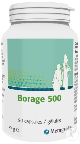 Metagenics Borage 500 Pot 90 Gélules (19751)
