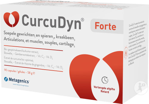 Metagenics CurcuDyn Forte Articulations Et Muscles 90 Capsules (25635)