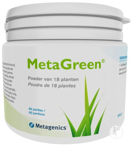 Metagenics MetaGreen Poudre De 18 Plantes 60 Portions