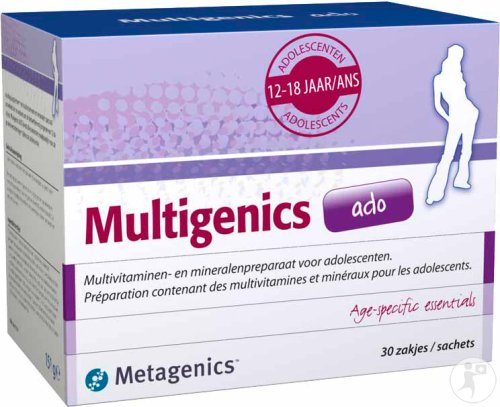 Metagenics Multigenics Ado 30 Sachets