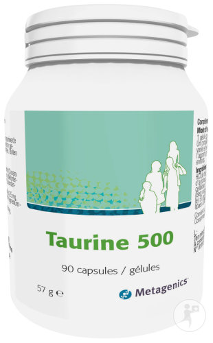 Metagenics Taurine Gélules 90x500mg