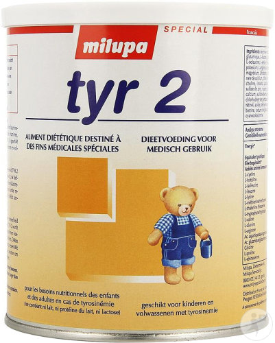 Milupa Tyr 2 Prima Pdr 500g