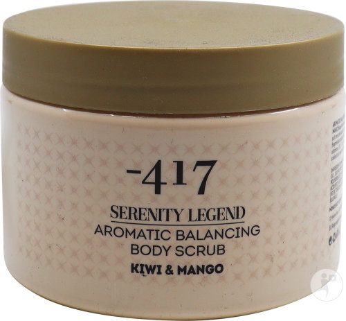 Minus 417 Serenity Legend Gommage Peeling Corporel Aromatique Kiwi Mangue Pot 450ml