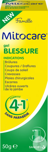 Mitocare Gel Blessure Flacon Pompe 50g