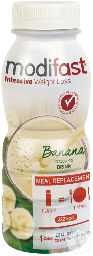 Modifast Intensive Weight Loss Repas A Boire Saveur Banane 236ml