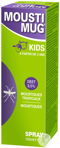 Moustimug DEET 9,5% Spray 100ml
