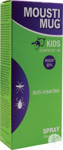 Moustimug Kids Spray 75ml Nouvelle Formule