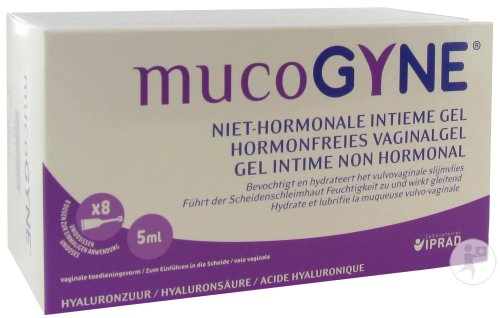Mucogyne Gel Intime Non Hormonal Unidose 8x5ml