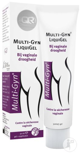 Multi-Gyn LiquiGel Contre La Sécheresse Vaginale Avec Applicateur Tube 30ml