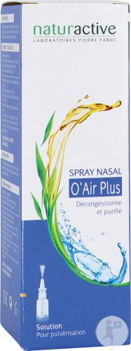 Naturactive O'air Plus Spray Nasal 20ml Nf