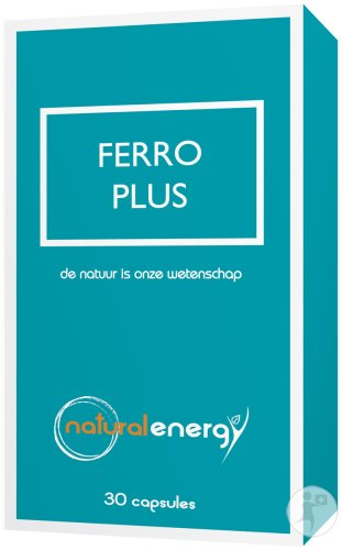 Natural Energy Ferro Plus 30 Gélules