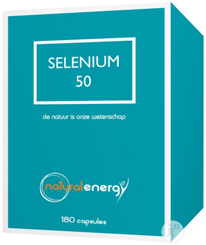 Natural Energy Sélénium 50 Gélules 180