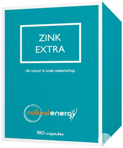 Natural Energy Zinc Extra Gélules 180x22,5mg