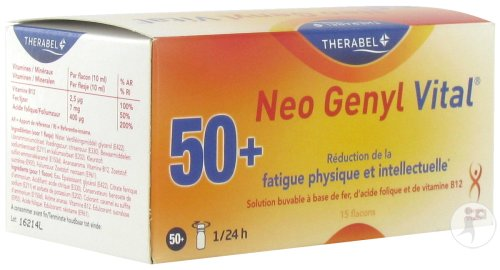 Neo Genyl Vital 15 Ampoules