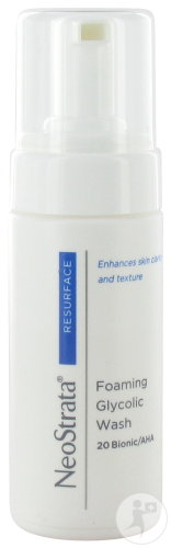 Neostrata Resurface Foaming Glycolic Wash 20 Bionic/AHA Peaux Grasses Flacon Pompe 100ml