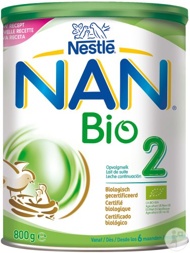 Nestlé Nan Optipro Bio 2 Lait De Suite Pot 800g