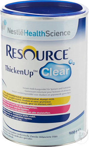 Nestlé Resource ThickenUp Clear Poudre Boîte 900g