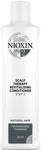 Nioxin System 2 Step 2 Scalp Therapy Revitalising Conditioner Cheveux Très Fins Et Naturels 300ml
