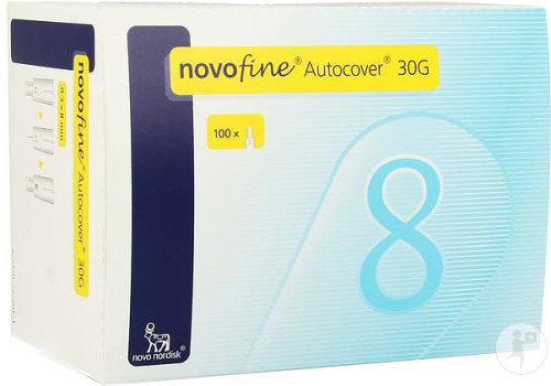 Novofine Autocover Aig Ster 8mm/30g 100 Pc