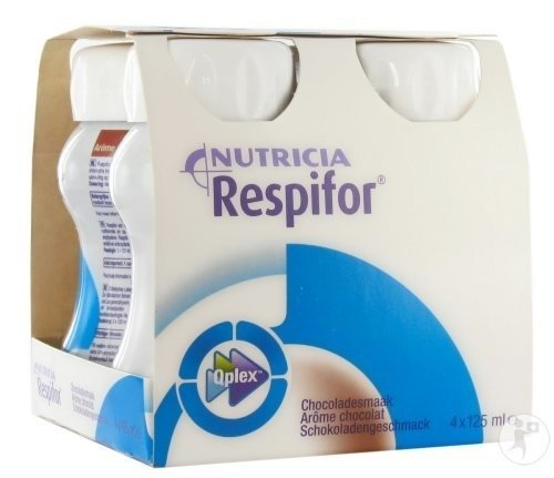 Nutricia Respifor Chocolat 4x125ml