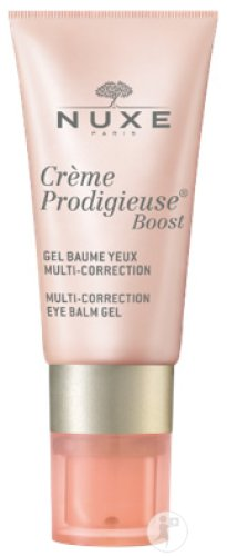 Nuxe Crème Prodigieuse Boost Gel Baume Yeux Multi-Corrections Tube Pompe 15ml