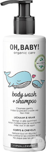 Oh, Baby! Body Wash + Shampoo Corps Et Cheveux 250ml
