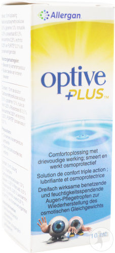 Optive Plus Solution Stérile 10ml