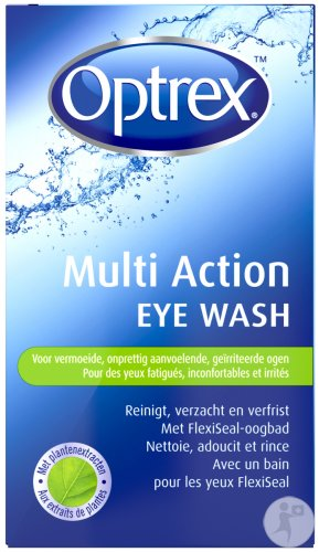 Optrex/Optone Eye Wash Bain Oculaire + Oeillere 100ml